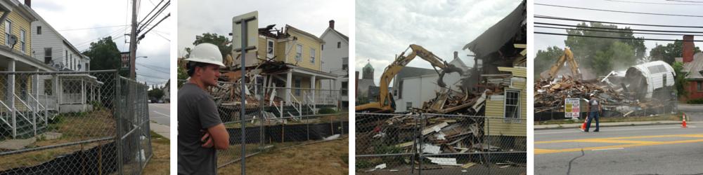 West Main Street Demolition