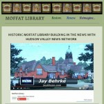 Historic Moffat Library in news cropped
