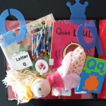 Alphabet Early Literacy Kits A-Z available for checkout. Imagine hours of alphabet learning fun with your little ones. Each kit complete with 2 books, alphabet stamp, alphabet cards, cutouts, crayons and a stuffed toy or hand puppet!