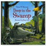 "Count from 1 otter pup to 10 baby crayfish as readers learn about the special relationships of baby and mom mammals, reptiles, birds, and insects that make their home in the Okefenokee Swamp. A helpful guide to swamp flora and fauna is included. Modeled after the song ""Over in the Meadow"" by Olive A. Wadsworth."